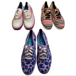 Keds Women's Shoes Lot Of 3 Pairs Size